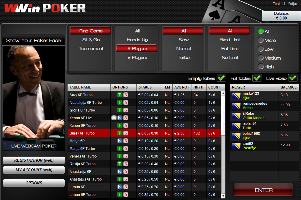 Planetwin365 poker srbija : Roulette bwin strategie