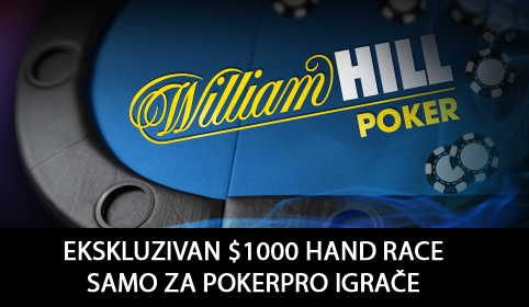 William hill hand race